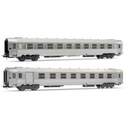 ** Jouef HJ4099 SNCF DEV Inox Coach Set (2) III
