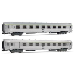 ** Jouef HJ4100 SNCF DEV Inox Coach Set (2) IV