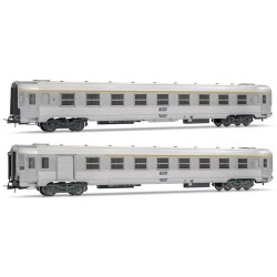 ** Jouef HJ4101 SNCF DEV Inox Coach Set (2) IV