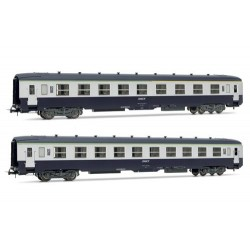 ** Jouef HJ4105 Jouef HJ4105 - HO Scale SNCF DEV A0 Coach Set (2) IV