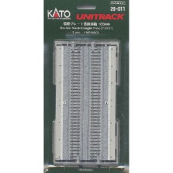 ** Kato 20-011 Unitrack (WS186G) Dual Straight Track 186mm 2pcs