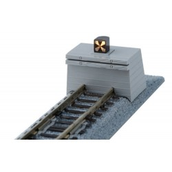 ** Kato 20-063 Unitrack (S66B-ALT) Straight Track with Buffer Stop 66mm