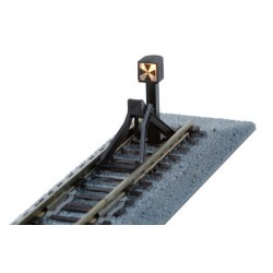** Kato 20-064 Unitrack (S66B-CLT) Straight Track with Buffer Stop 66mm