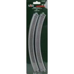 ** Kato 20-132 Unitrack (R348-45) Curved Track 45 Degree 4pcs