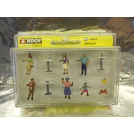 ** Noch 15833  Coffee Drinkers (7) and Accessories Figure Set