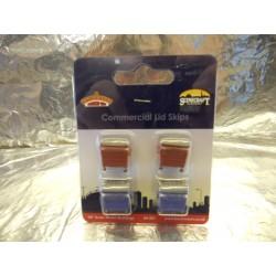 ** Bachmann 44-501  x 1 Scenecraft Commercial Lid Skips 4pcs (Pre-Built)