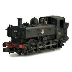 ** Dapol 2S-007-017 Pannier 6760 BR Black Early Crest Later Cab
