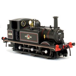 ** Dapol 2S-012-010 Terrier A1 32636 BR Lined Black Late Crest