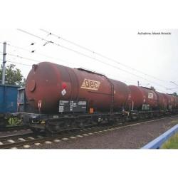 ** Piko 58361 Expert PKP Zas (406R) Bogie Tank Wagon Set (3) VI