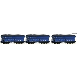** Roco 76130 PKP Cargo Side Discharge Hopper Wagon VI