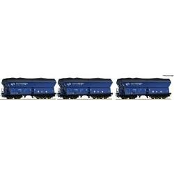 ** Roco 76130 PKP Cargo Side Discharge Hopper Wagon VI