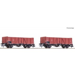 ** Roco 76104 PKP Open Wagon Set (2) III