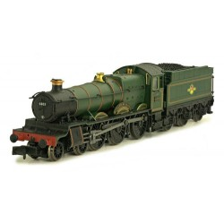 ** Dapol 2S-019-006 Grange 6803 Bucklebury BR Lined Green Late Crest