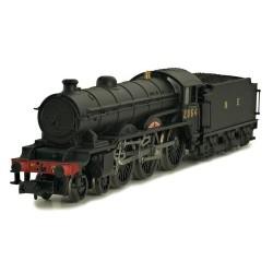 ** Dapol 2S-020-001 B17 2864 Liverpool BR Wartime Black