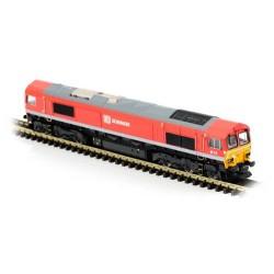 ** Dapol 2D-007-008 Class 66 114 DB Schenker
