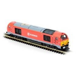 ** Dapol 2D-010-006 Class 67 015 DB Schenker Red
