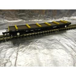 ** Graham Farish 377-604 80t BDA Bogie Bolster Railfreight Metals with Load