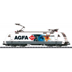 ** Minitrix 16084 DBAG BR101 115-4 AGFA Electric Locomotive V (DCC-Sound)