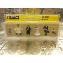** Noch 15860 Wedding Group (6) Figure set
