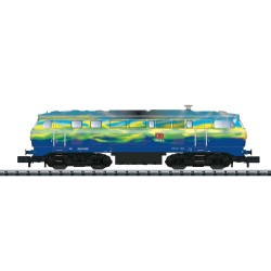 ** Minitrix 16284 DBAG Touristik BR218 Diesel Locomotive V (DCC-Sound)