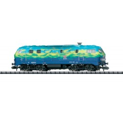** Minitrix 16285 DBAG Touristik BR218 Diesel Locomotive V (DCC-Fitted)