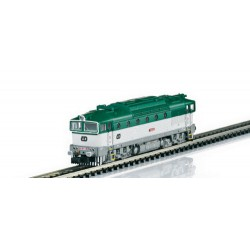 ** Minitrix 16735 CD Rh750 Diesel Locomotive V (DCC-Sound)