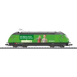** Minitrix 16763 SBB Re460 Migros Electric Locomotive VI (DCC-Sound)