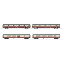 ** Minitrix 23485 DB Rheingold Offshoot Coach Set (4) IV (DCC-Sound)