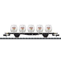 ** Minitrix 15437 DB Lbgjs598 Liquids Container Wagon IV