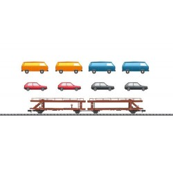 ** Minitrix 15442 DB Laekks553 Car Transporter IV