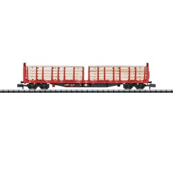 ** Minitrix 15650 DBAG Roos639 Bogie Stake Wagon with Timber Load V
