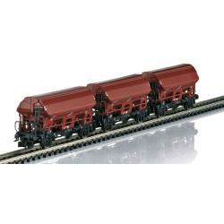 ** Minitrix 15804 DB Ktmmvs69 Hopper Wagon Set (3) III