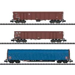 ** Minitrix 15869 Modern German Wagon Set (3) IV