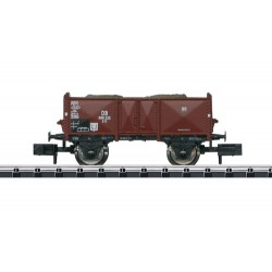 ** Minitrix 15929 DB O11 Gondola w/Ship Hawser Load III