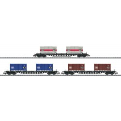 ** Minitrix 15961  DB Sgs693 Container Wagon Set (3) IV