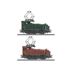** Trix 22390 SBB Ee3/3 Electric Locomotive Set (2) III (DCC-Sound)