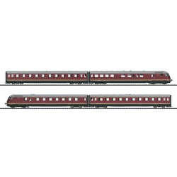 ** Trix 22602 DB VT08.5 TEE185 Paris-Ruhr 4 Car DMU III (DCC-Sound)