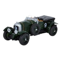 ** Oxford Diecast 76BB001 Bentley Blower Le Mans 1930 No.9 Birkin/Chassagne