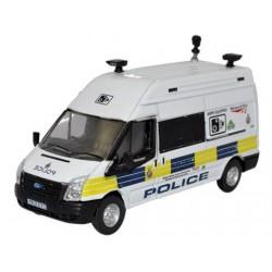 ** Oxford Diecast 76FT026 Ford Transit MkV LWB High Network Rail Speed Camera