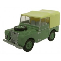 ** Oxford Diecast 76LAN180001 Land Rover Series I 80'' Sage Green (HUE)