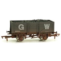 ** Dapol 4F-051-014 5 Plank Wagon GWR Weathered
