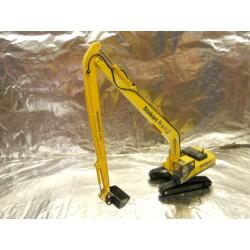 ** Oxford Diecast 76KOM002 Stobart Rail Excavator