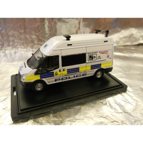 ** Oxford Diecast 76FT026 Ford Transit MkV LWB High Network Rail Speed Camera