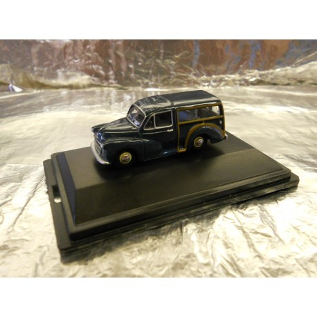 ** Oxford Diecast 76MMT002 Morris Minor Traveller Trafalgar Blue