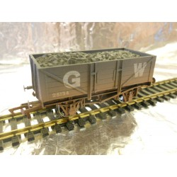 ** Dapol 4F-051-014 5 Plank Wagon GWR Weathered