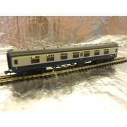 ** Graham Farish 374-164A Mk1 FK 1st Class Coach BR Blue/Grey Motorail