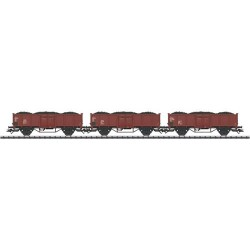 ** Trix 24434 DR Coal Wagon Set (3) III