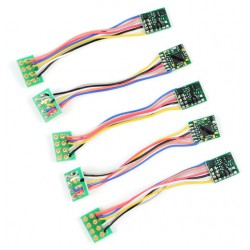 ** Gaugemaster BPDCC22 Classic 8 Pin Micro Decoder (5 Pack)
