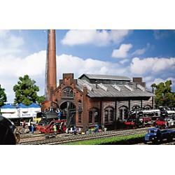 ** Faller 120159 Locomotive Shed/Engine Workshop Kit I