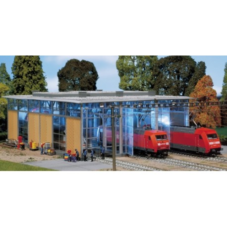 ** Faller 120217 Engine Shed for Electric Locomotives (3 Track) VI